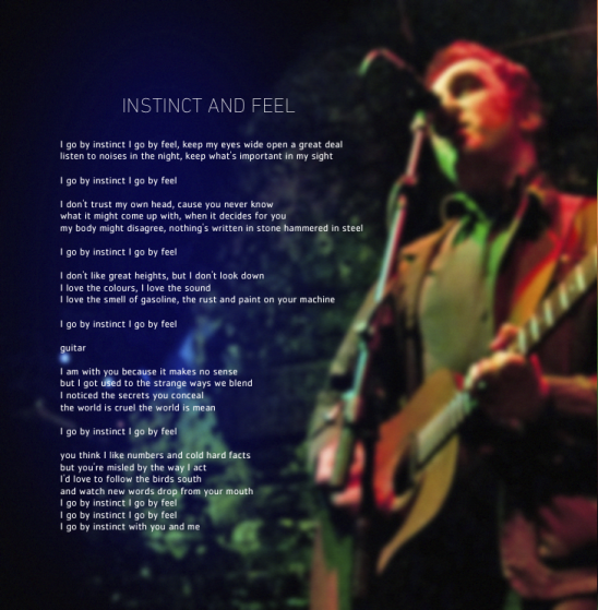 Instinct and Feel art-lyrics